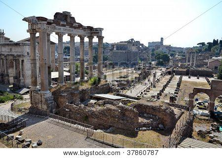 Forum Romanum in Rome, Italy