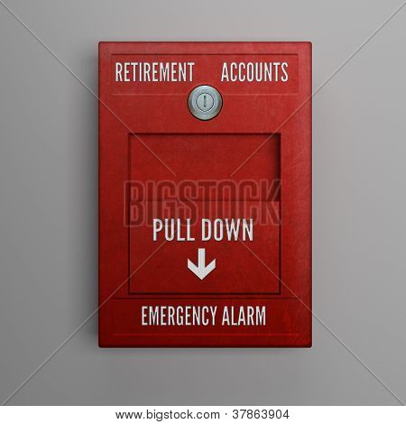 Retirement Accounts Alarm