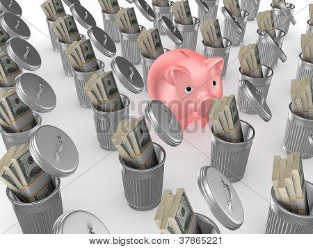 Mejor concepto de banco.
