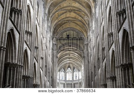 Rouen - Cathedral Interior