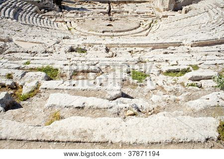 Greek Theater, Neapolis Of Syracuse In Sicily
