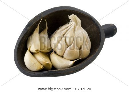 Scoop Of Garlic