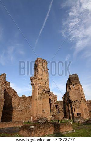Termas de Carcalla) en Roma, Italia