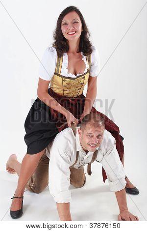 Casal da Baviera em amor frisk