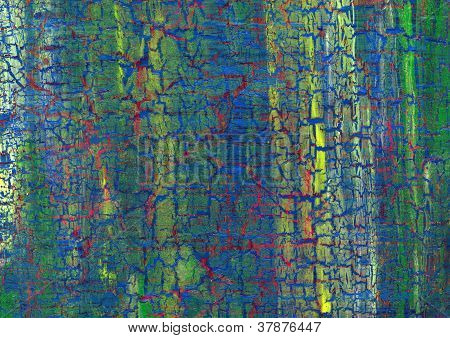 Acryl Risse Hintergrund