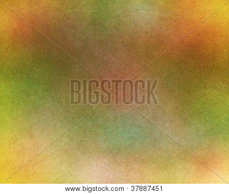 Abstract background with textures with a mix of green orange and reds