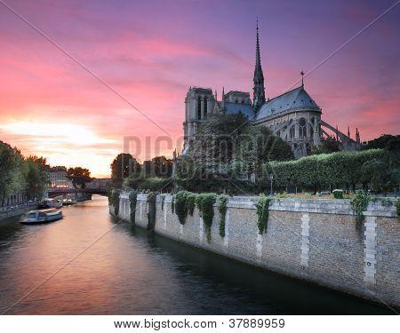 River Seine.