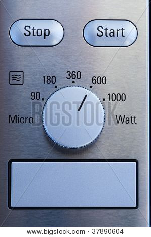 Microwave Control Panel