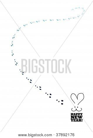 Rabbit And Traces