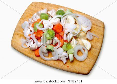 Chopped Vegatables