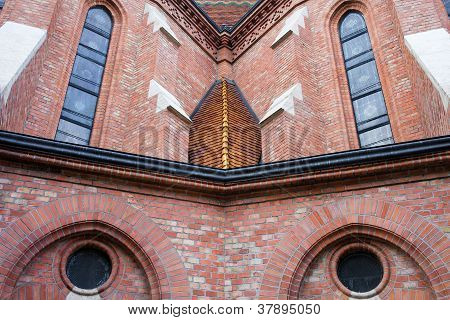 Buda Reformed Church Architectural Details