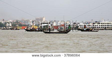 Boat traffic
