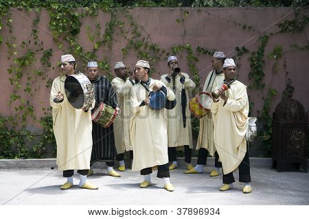 Traditional Moroccan Musicians