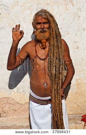 Shaiva Sadhu (holy Man)
