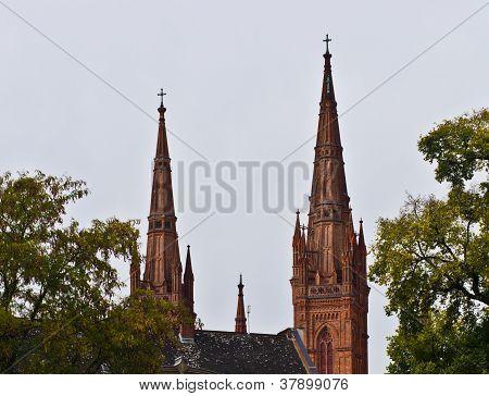 Marktkirche Pinnacles