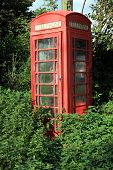 Abandoned Telephone Box