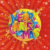 pic of merry christmas  - Merry Christmas by English language - JPG