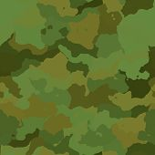 image of camoflage  - Camouflage pattern graphic wallpaper texture design in various colors - JPG