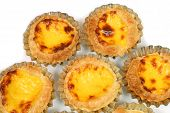 picture of pasteis  - Egg tarts  - JPG
