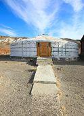 stock photo of ulaanbaatar  - Yurt Stone of white light - JPG