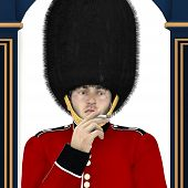 stock photo of beefeater  - British Guard  - JPG