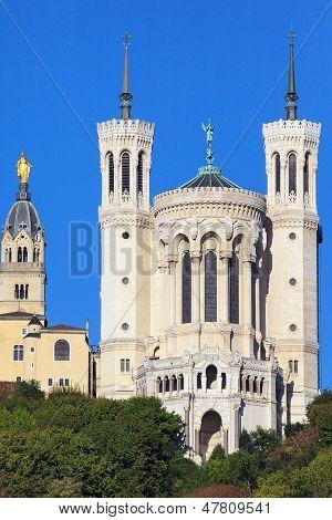 Basilica Of Notre-dame De Fourviere