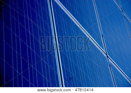 Solar Array Closeup