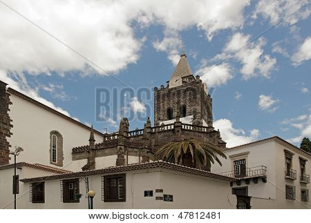 Cathedral of Funchal,   island of Madeira