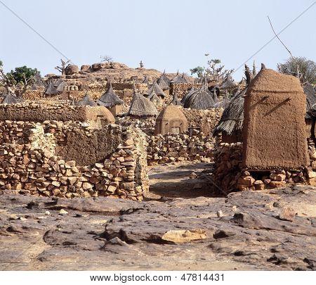 Dogon Village Idjeli