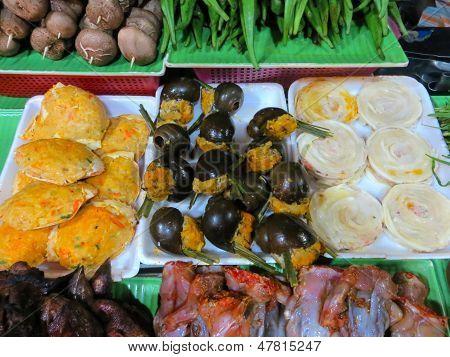 Street food in Saigon, Vietnam