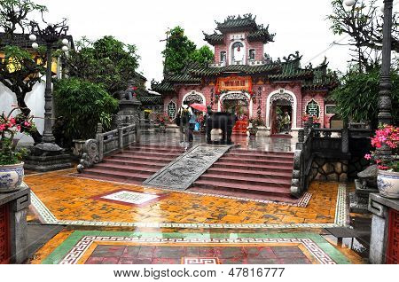 The Cantonese Chinese Assembly Hall in Hoi An, Vietnam