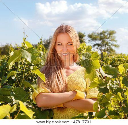 Woman Winegrower