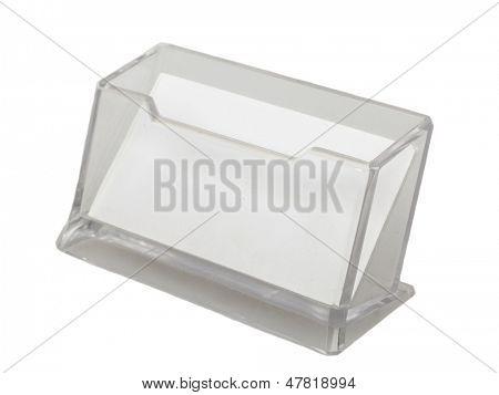 Photo of  transparent Business Card Holder