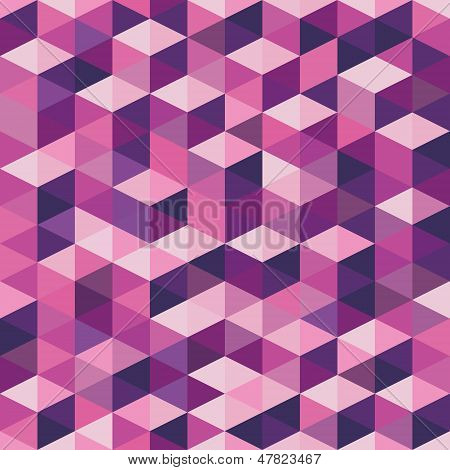 Geometric Background - Vector Seamless Pattern