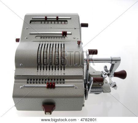 Old Calculating Machine