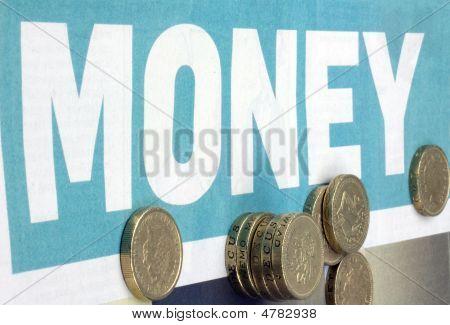 Money Pound Coins