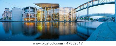 Berlin Panorama Reichstagufer