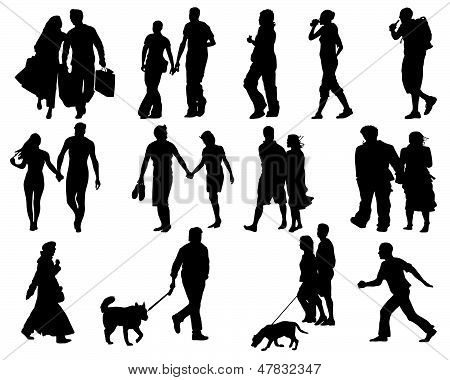 Walking people.eps