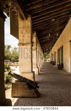 Spanish Mission Colonnade