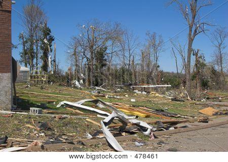 Tornado Damage Ketucky