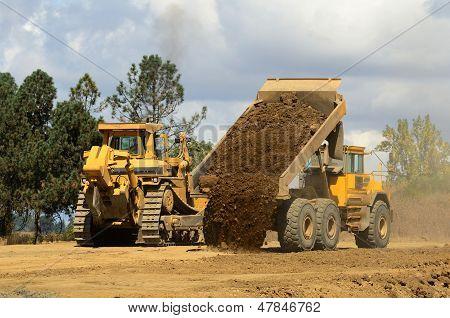 Dumping Dirt