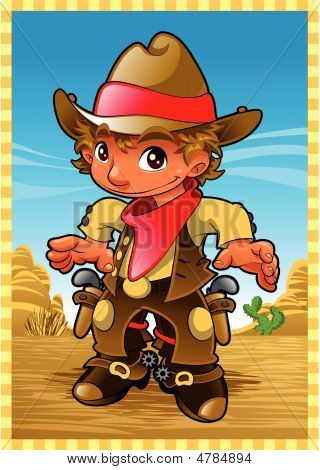 Baby Cow Boy