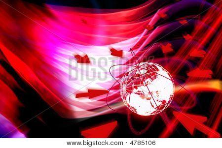 Globus und Netzwerk