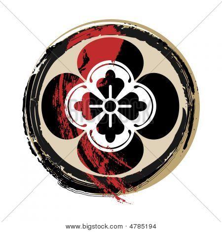 Samurai sangrento crista