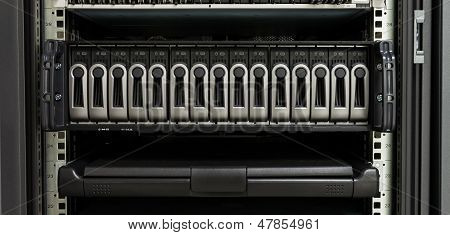 Harddisk Rack And Computer Control