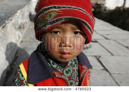 Young Nepali Kid