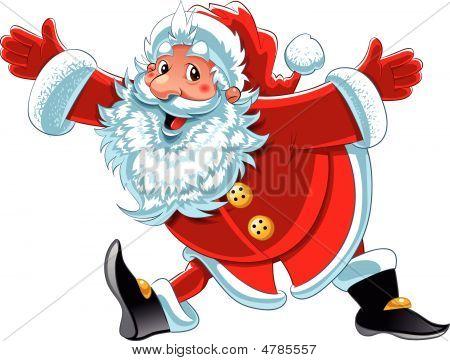 Weihnachtsmann Running