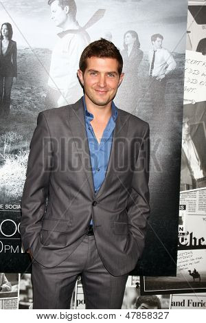 LOS ANGELES - JUL 10:  Joel Johnstone arrives at the HBO series