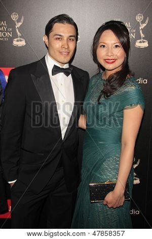 BEVERLY HILLS - JUN 16: Jamie Cho, Ching He Huang at the 40th Annual Daytime Emmy Awards at The Beverly Hilton Hotel on June 16, 2013 in Beverly Hills, California