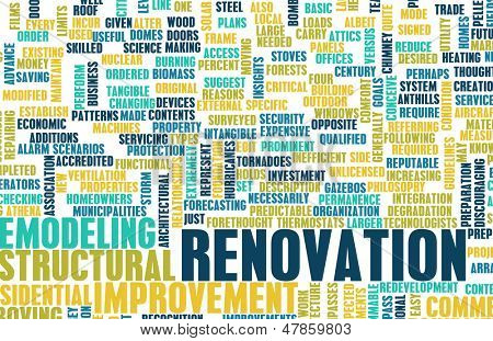 Renovation or Remodeling Your Home DIY as Concept